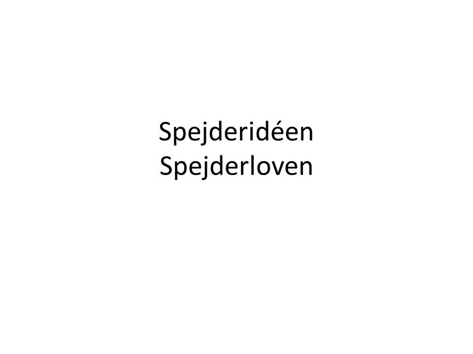 Spejderidéen Spejderloven