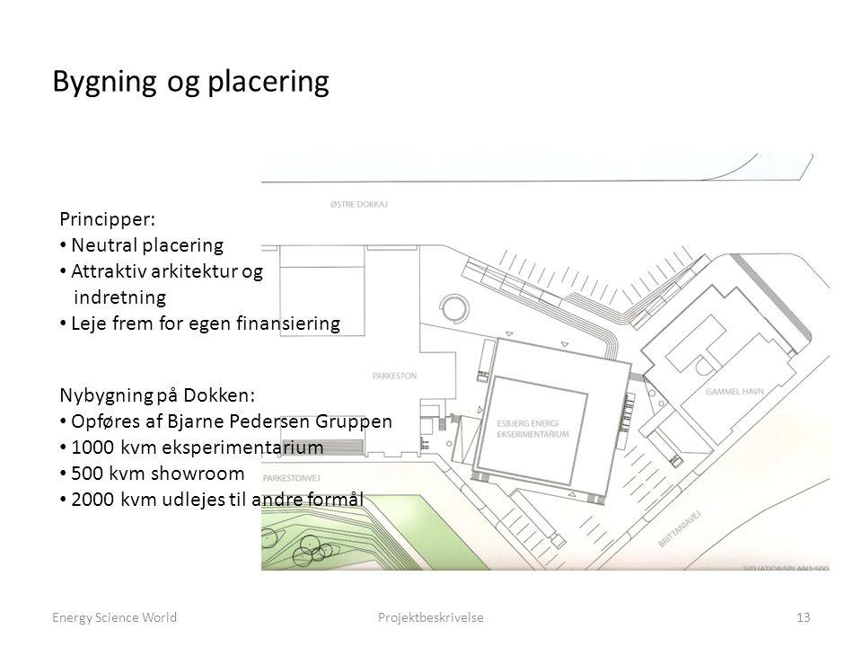 Bygning og placering Principper: Neutral placering
