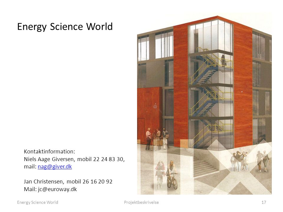 Energy Science World Kontaktinformation: