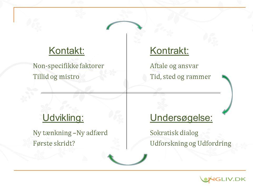 Non-specifikke faktorer Aftale og ansvar