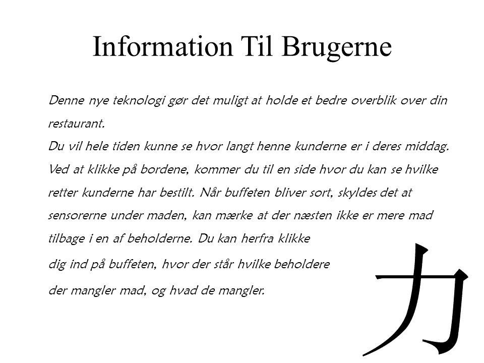 Information Til Brugerne