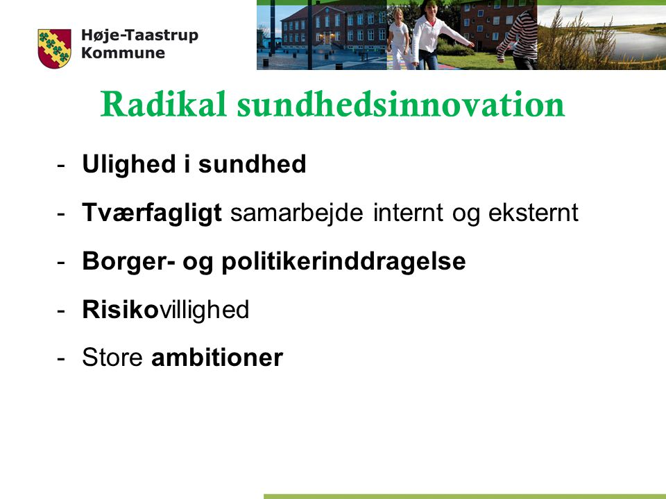 Radikal sundhedsinnovation