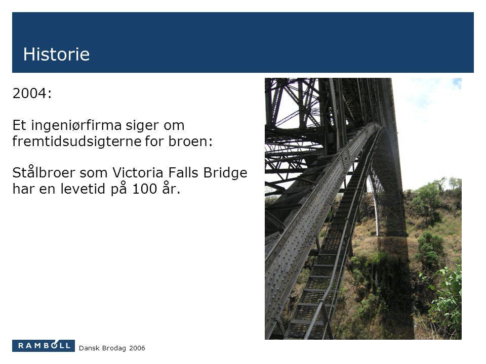 Historie 2004: Et ingeniørfirma siger om fremtidsudsigterne for broen: