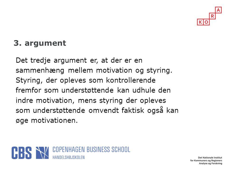 3. argument