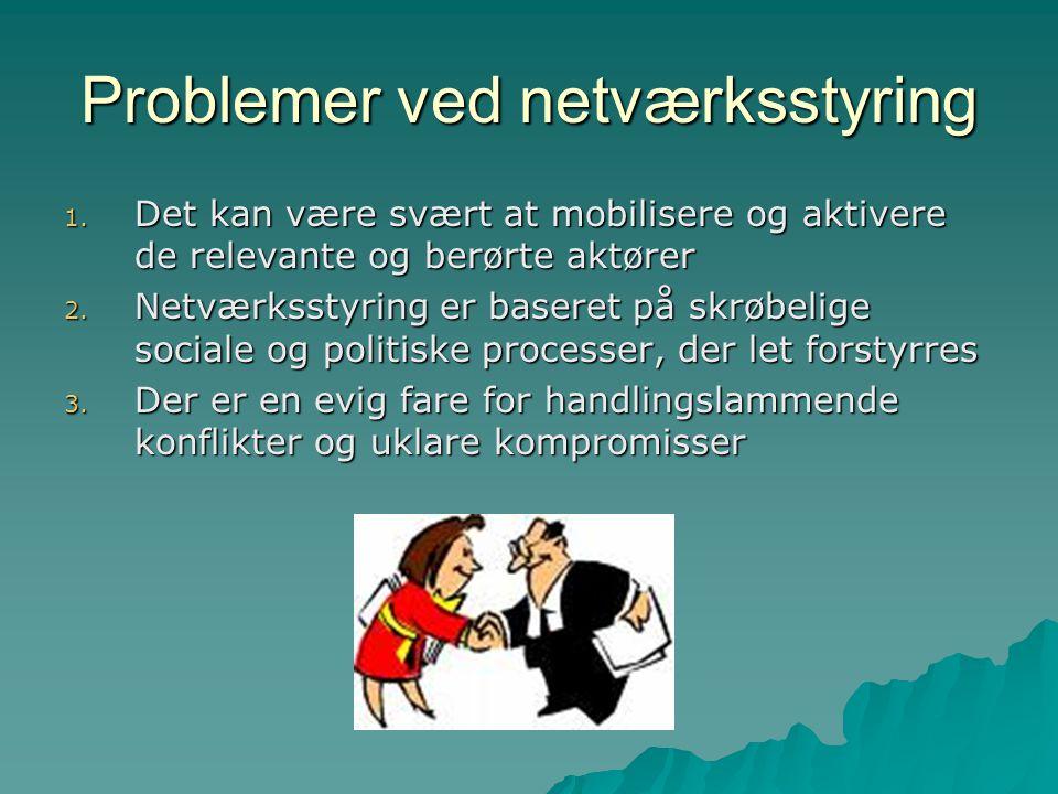 Problemer ved netværksstyring
