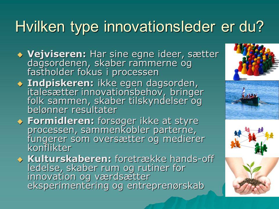 Hvilken type innovationsleder er du