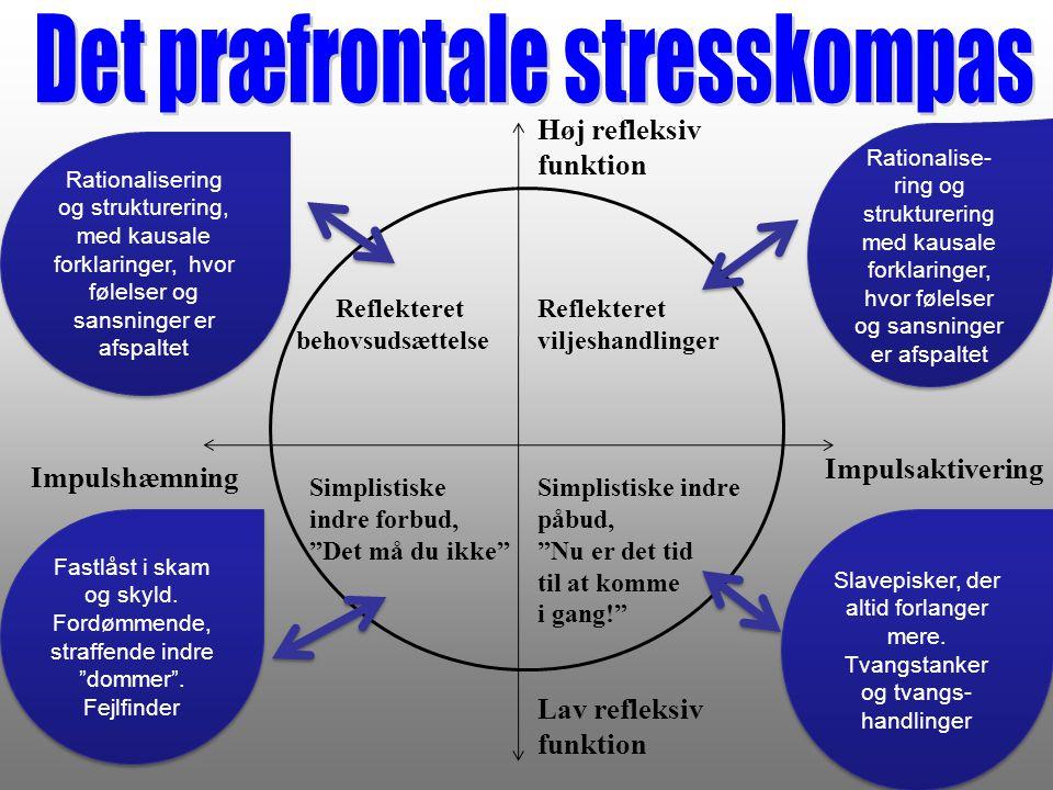 Det præfrontale stresskompas