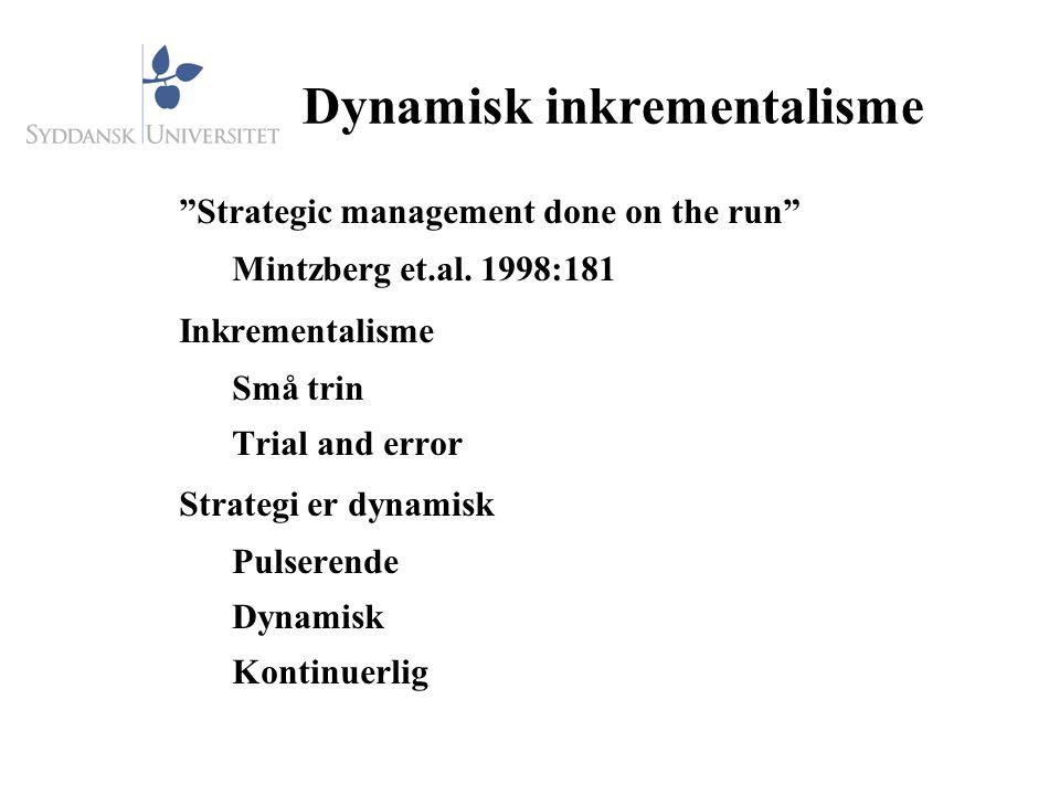 Dynamisk inkrementalisme