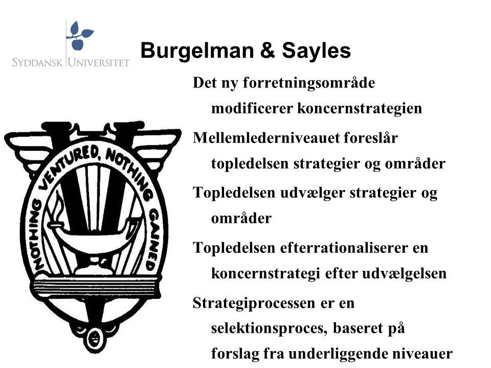 Burgelman & Sayles