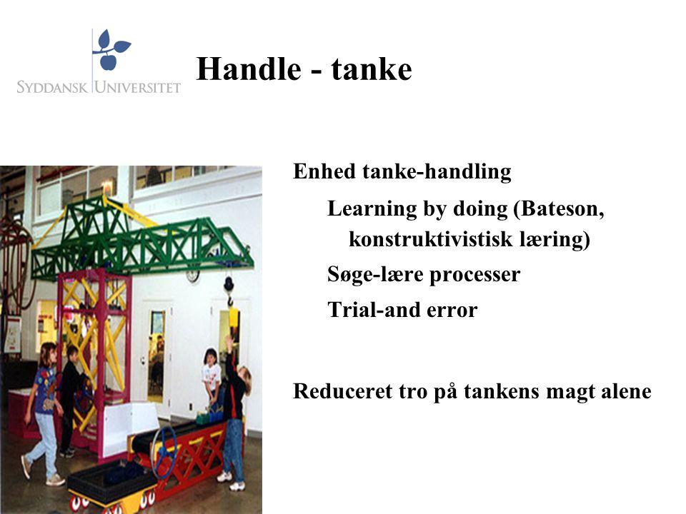 Handle - tanke