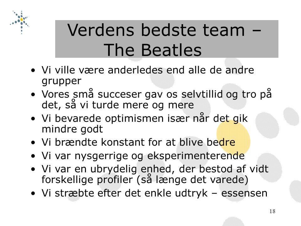 Verdens bedste team – The Beatles