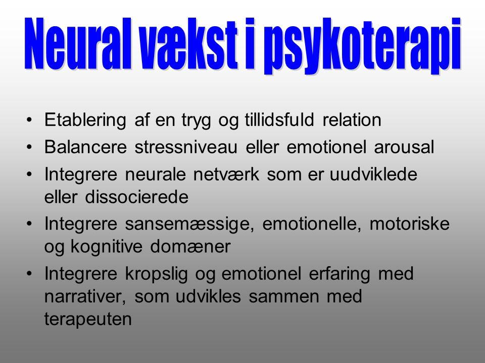 Neural vækst i psykoterapi