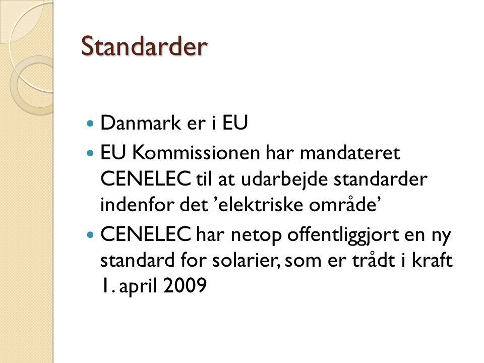 Standarder Danmark er i EU
