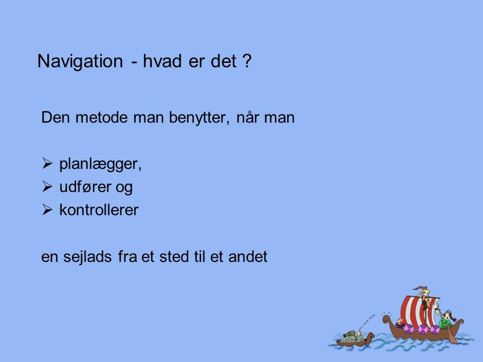 Navigation - hvad er det