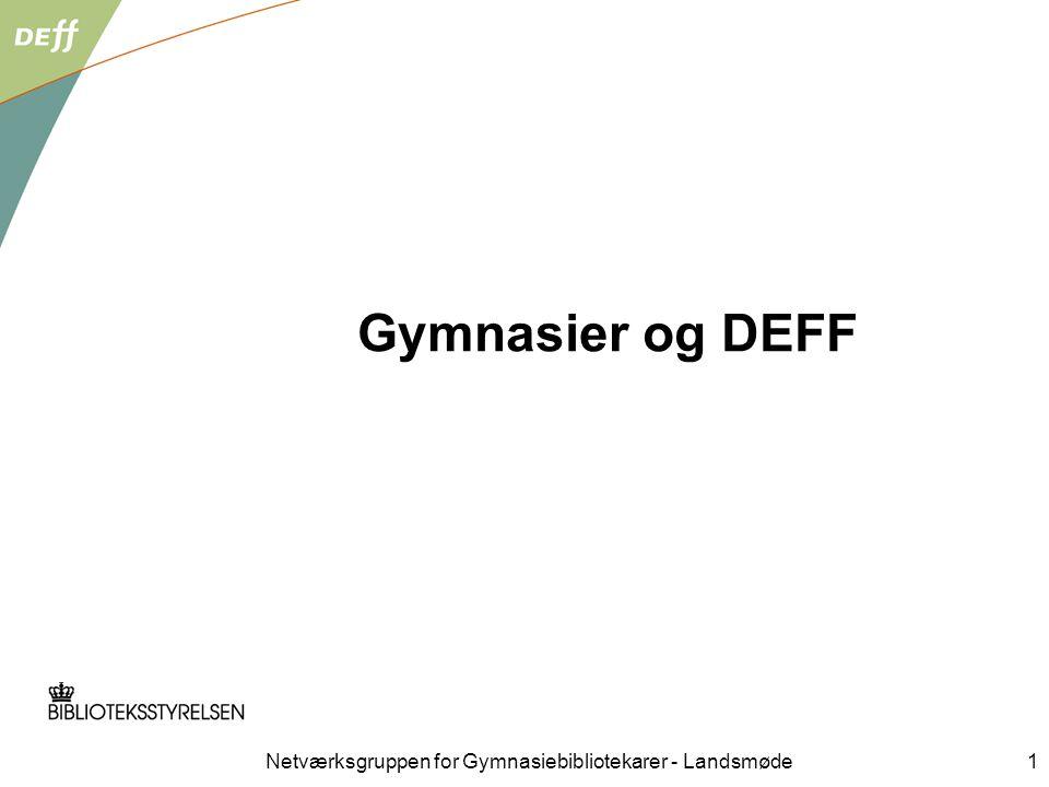 DEFF programgruppemøde 20. juni 2007