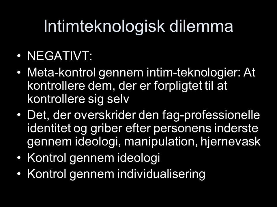 Intimteknologisk dilemma