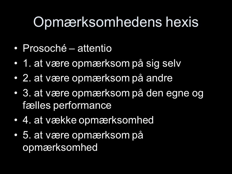 Opmærksomhedens hexis