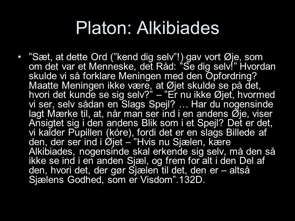 Platon: Alkibiades