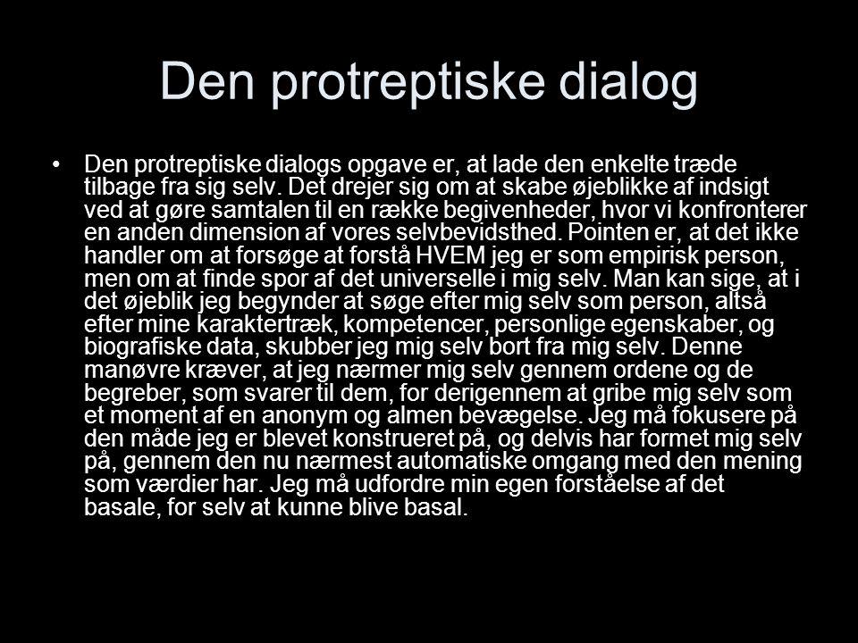 Den protreptiske dialog