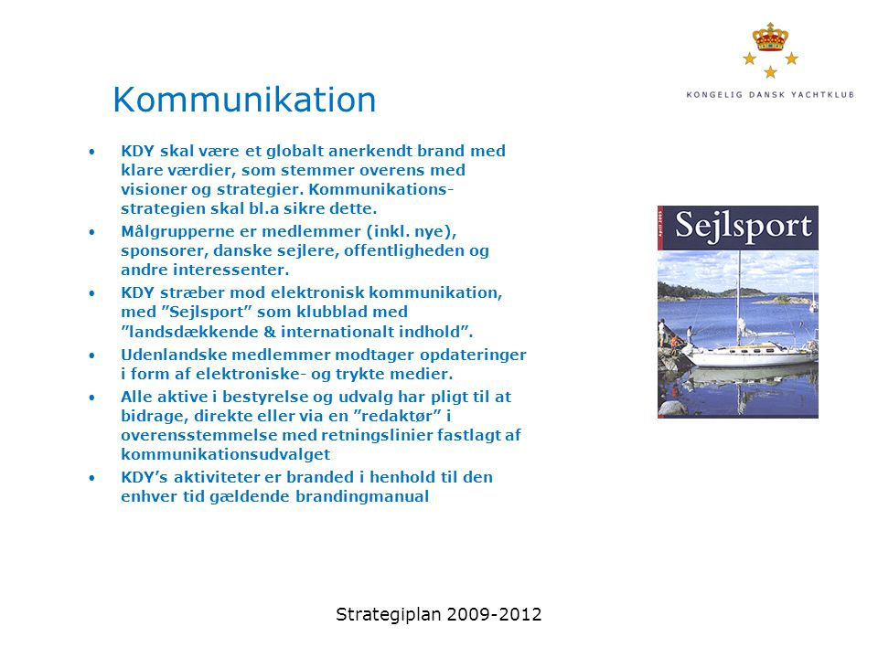 Kommunikation Strategiplan 2009-2012