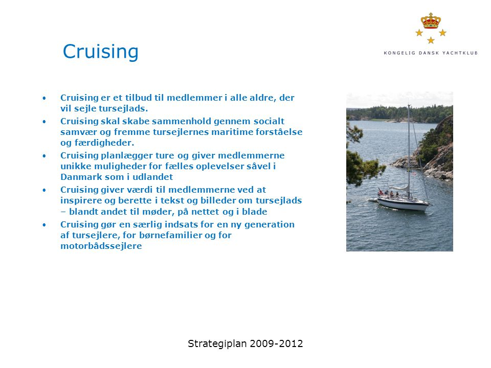 Cruising Strategiplan 2009-2012