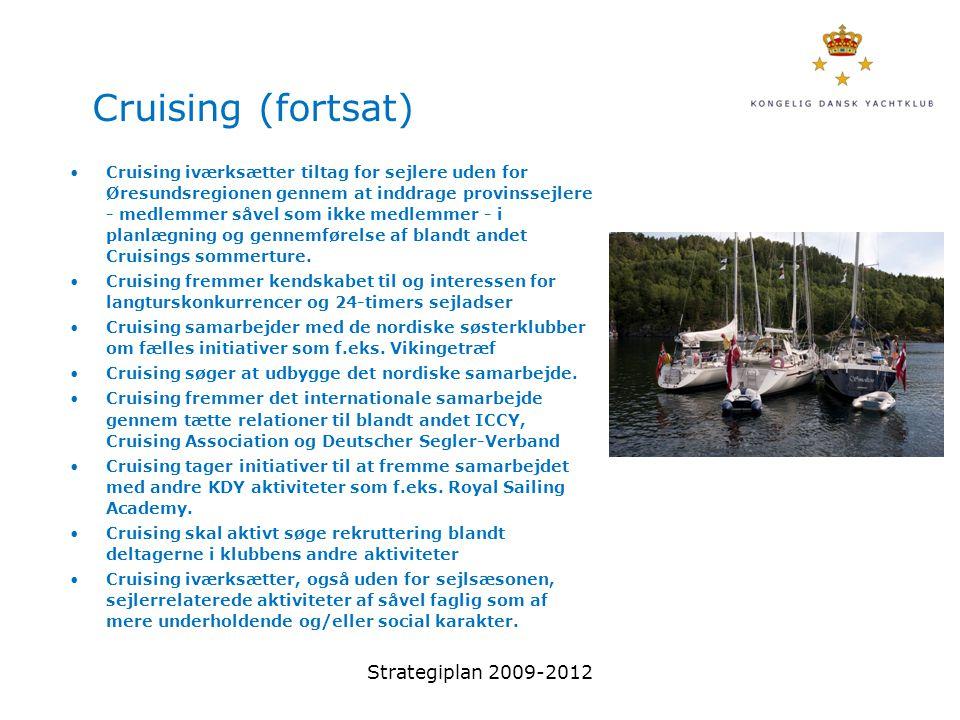 Cruising (fortsat) Strategiplan 2009-2012