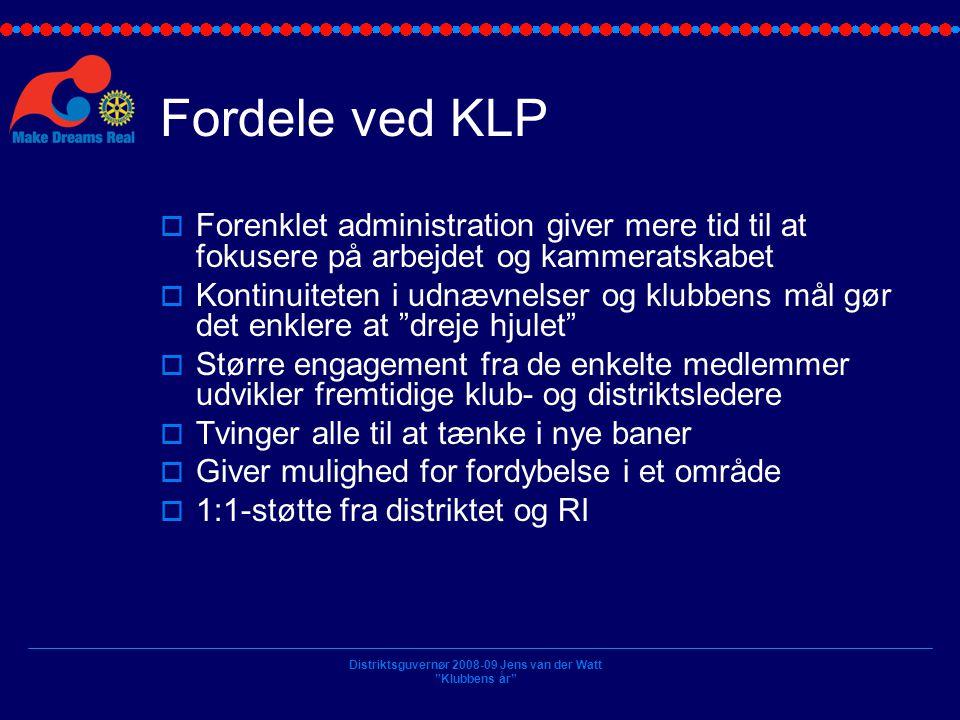 Fordele ved KLP Forenklet administration giver mere tid til at fokusere på arbejdet og kammeratskabet.