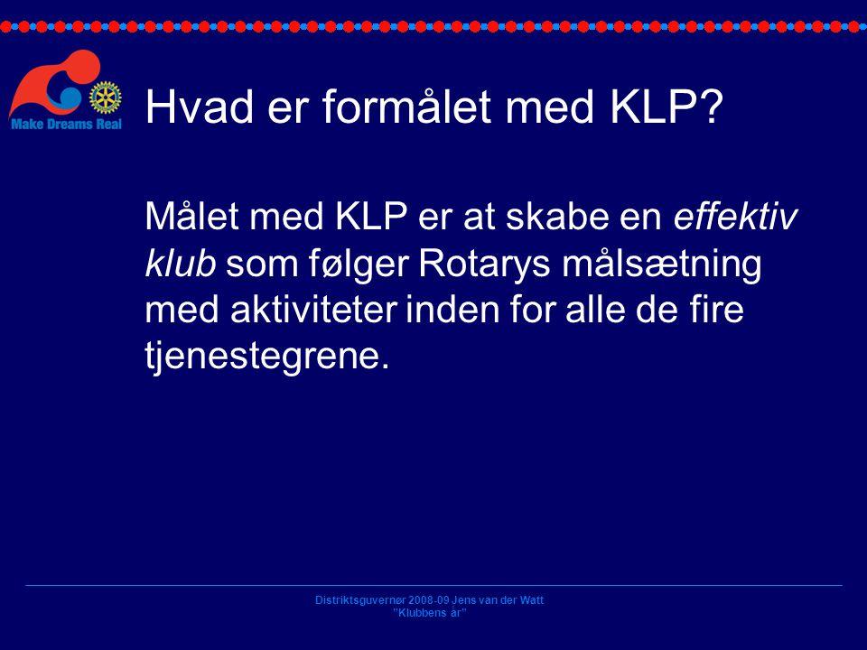 Hvad er formålet med KLP