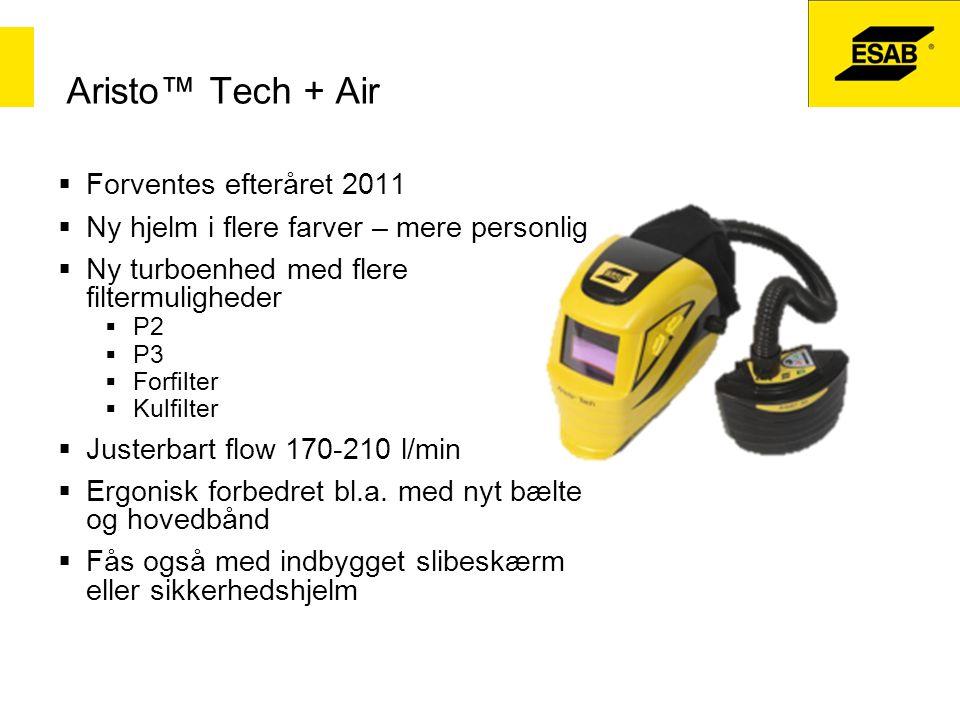 Aristo™ Tech + Air Forventes efteråret 2011