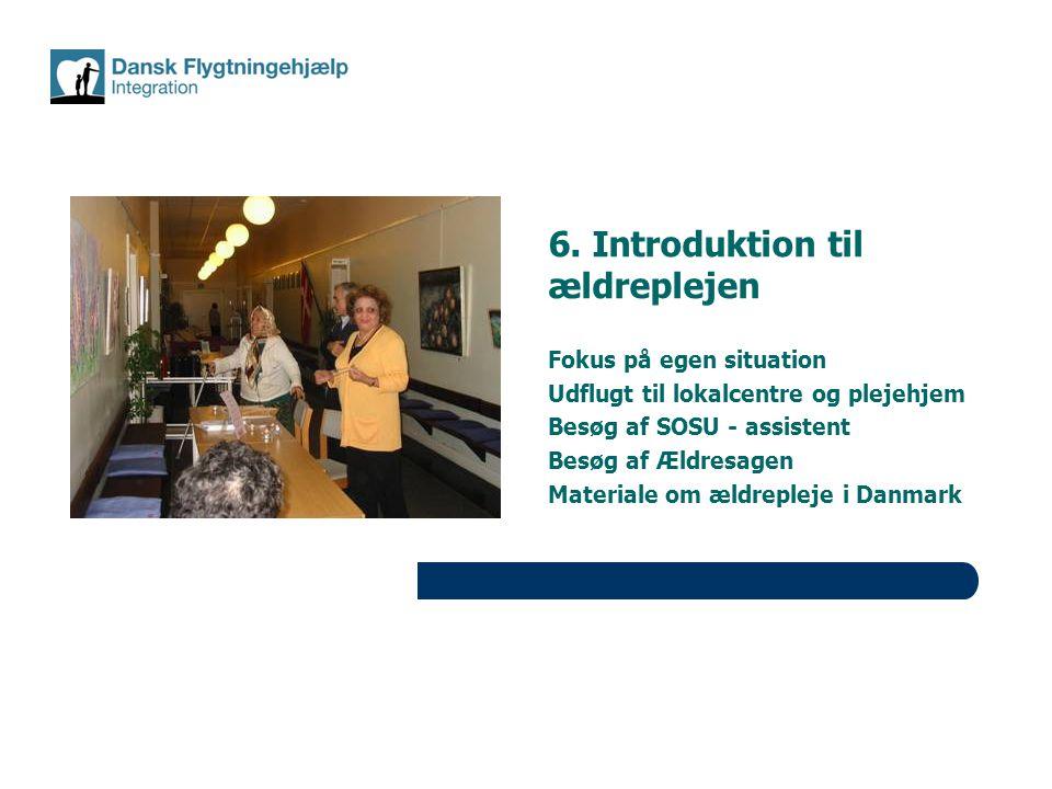 6. Introduktion til ældreplejen