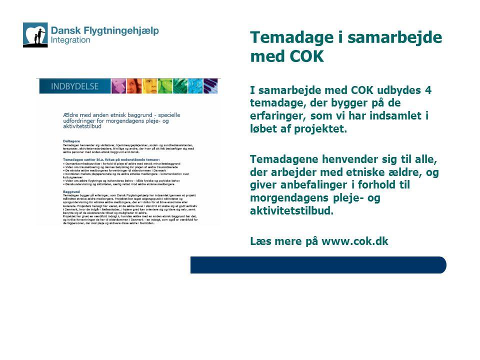 Temadage i samarbejde med COK
