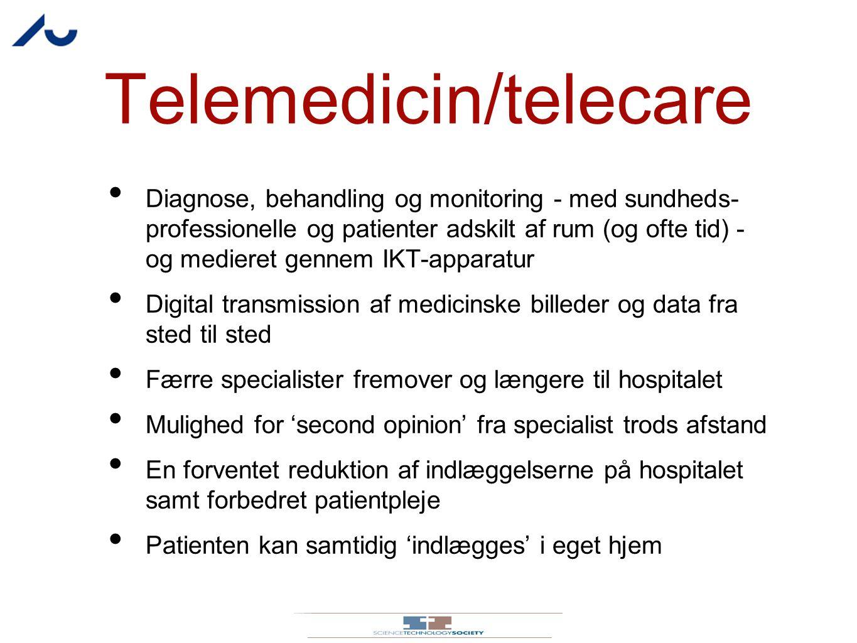 Telemedicin/telecare