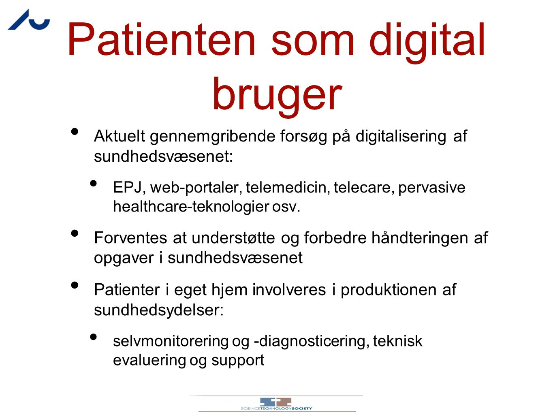 Patienten som digital bruger