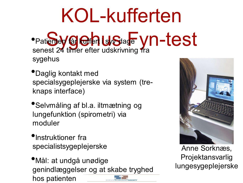 KOL-kufferten Sygehus Fyn-test
