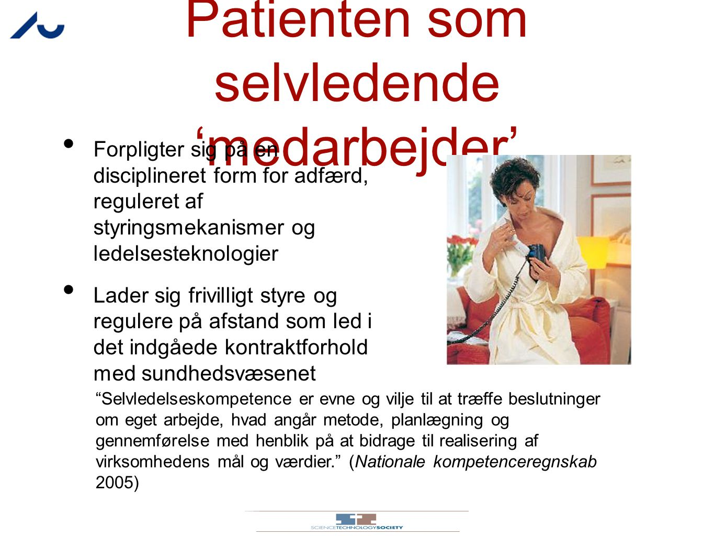 Patienten som selvledende 'medarbejder'