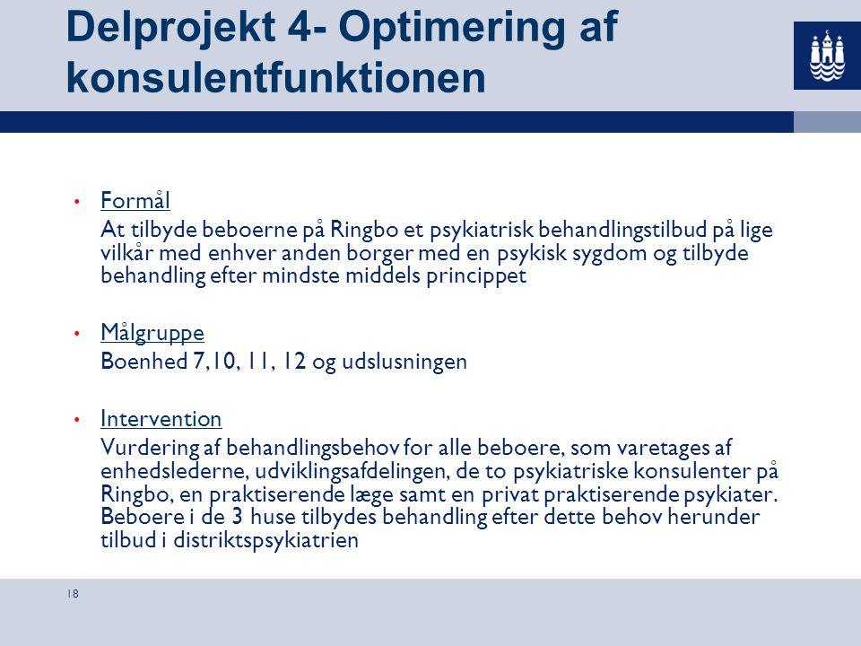 Delprojekt 4- Optimering af konsulentfunktionen