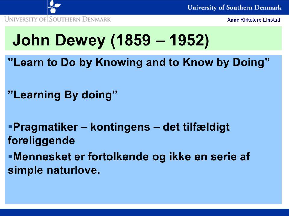 infed.org | John Dewey on education, experience and community