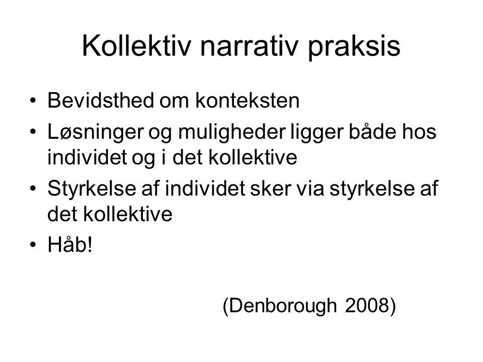 Kollektiv narrativ praksis