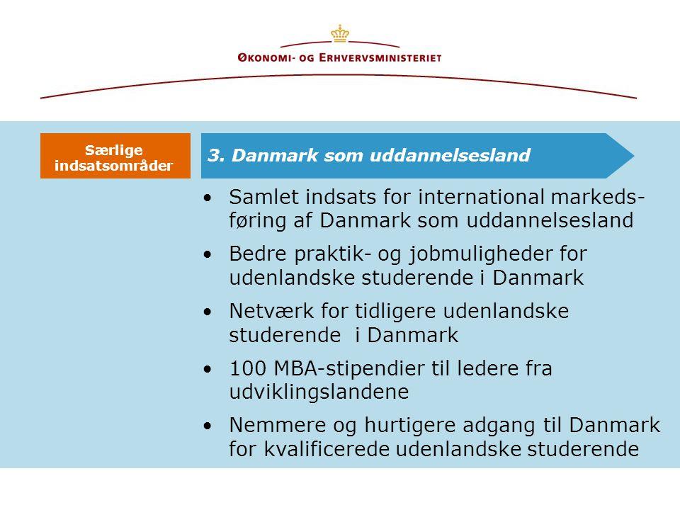 Bedre praktik- og jobmuligheder for udenlandske studerende i Danmark