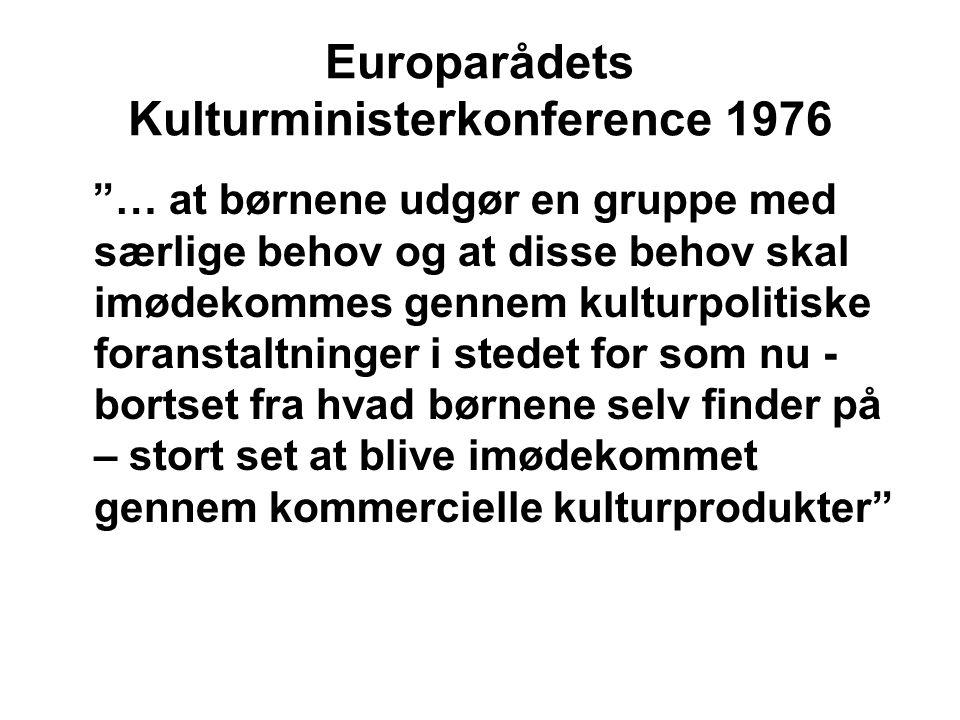 Europarådets Kulturministerkonference 1976
