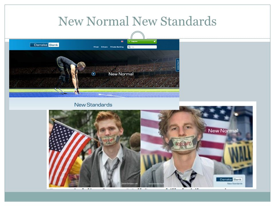 New Normal New Standards