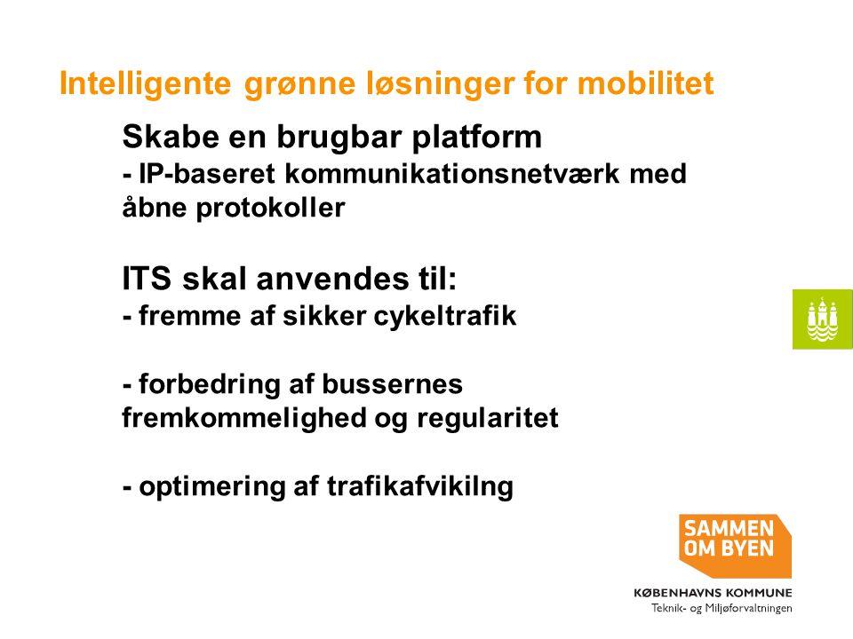 Intelligente grønne løsninger for mobilitet