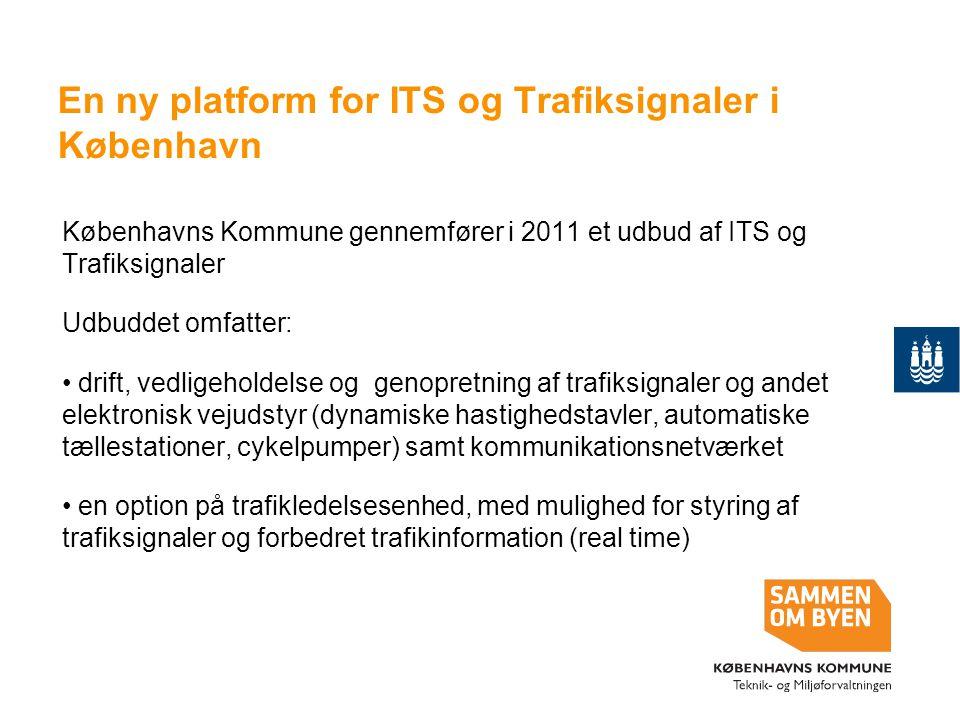 En ny platform for ITS og Trafiksignaler i København