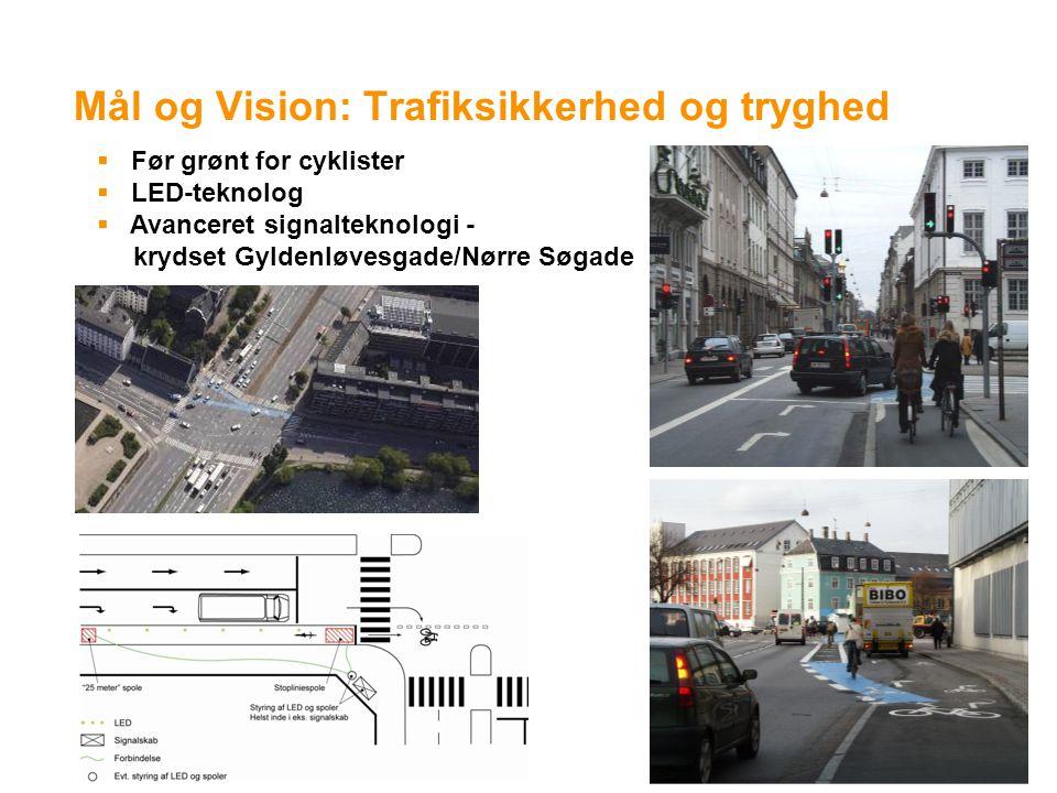 Mål og Vision: Trafiksikkerhed og tryghed