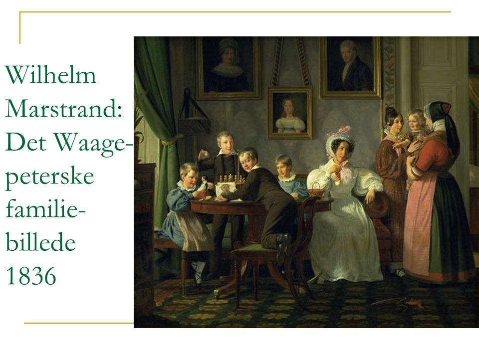 Wilhelm Marstrand: Det Waage-peterske familie-billede 1836