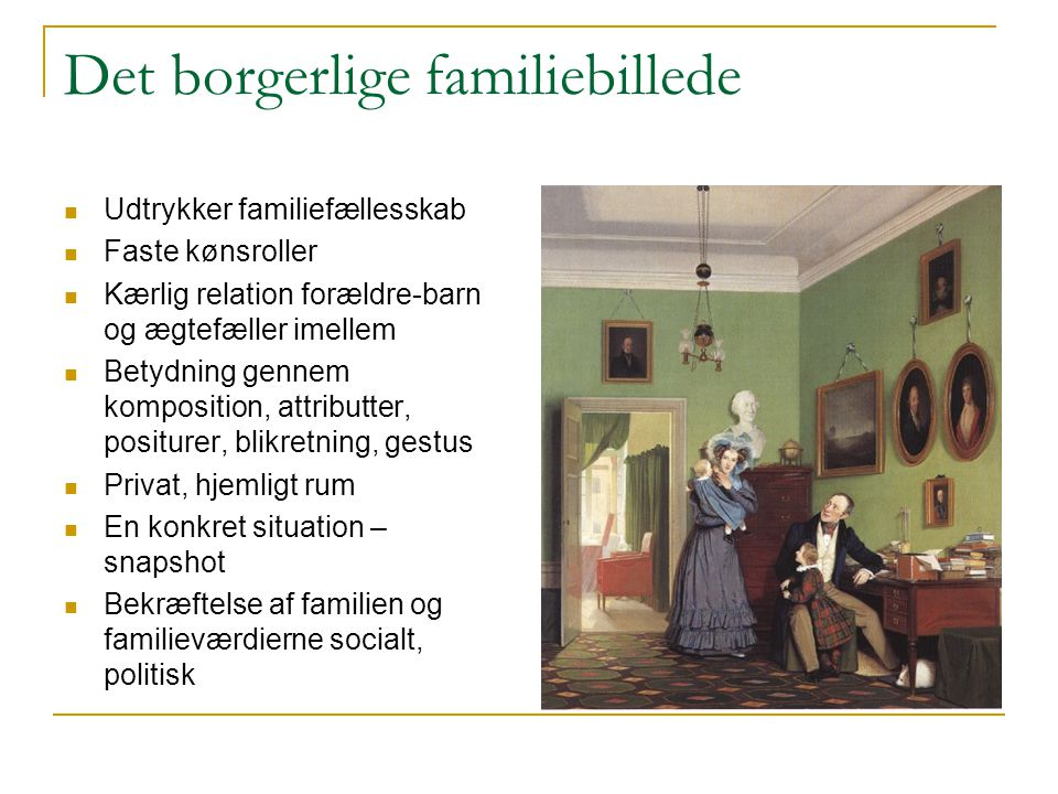 Det borgerlige familiebillede