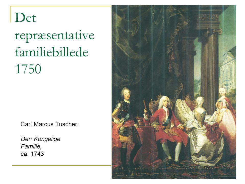 Det repræsentative familiebillede 1750
