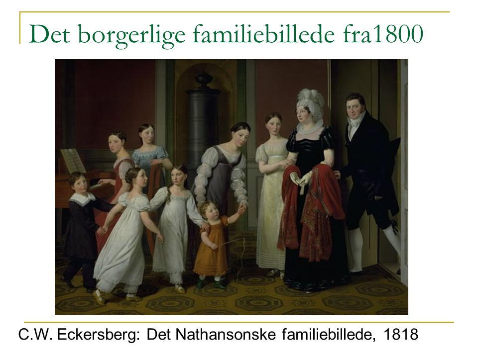 Det borgerlige familiebillede fra1800