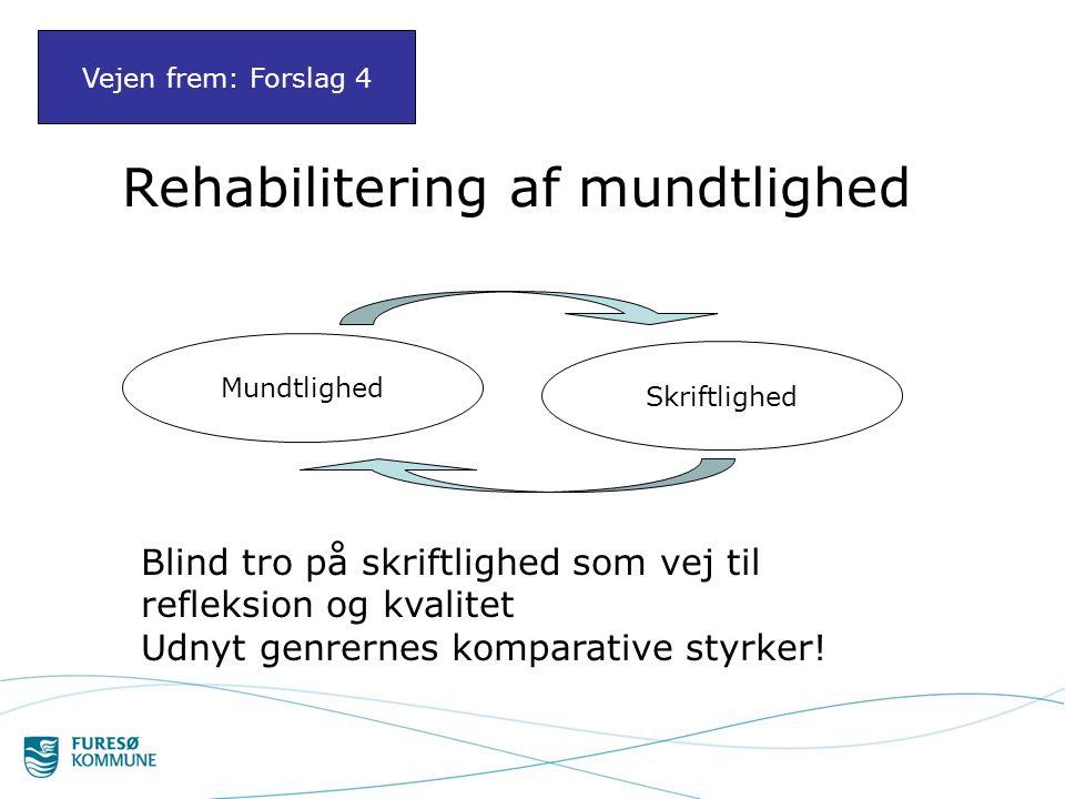 Rehabilitering af mundtlighed