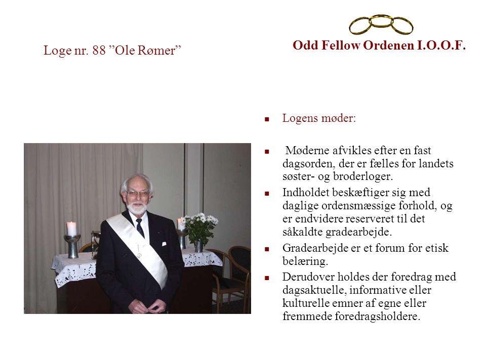 Odd Fellow Ordenen I.O.O.F.